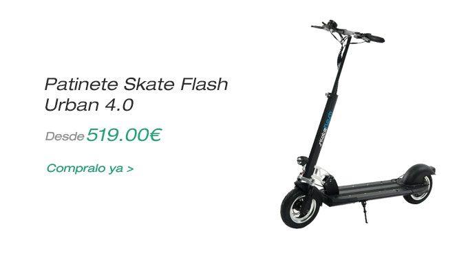 Oferta patinete eléctrico skate flash